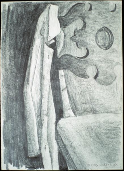 "Pencil Drawing. 9"" x 12"""