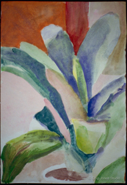 """Water Color on Paper. . 9"""" x 12"""""""